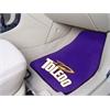 """FANMATS Toledo 2-piece Carpeted Car Mats 17""""x27"""""""