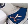 "FANMATS Virginia 2-piece Carpeted Car Mats 17""x27"""