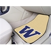 "FANMATS Washington 2-piece Carpeted Car Mats 17""x27"""