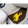 "FANMATS Wyoming 2-piece Carpeted Car Mats 17""x27"""