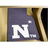 "FANMATS US Naval Academy 2-piece Carpeted Car Mats 17""x27"""
