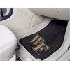 "FANMATS Wake Forest 2-piece Carpeted Car Mats 17""x27"""