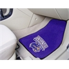 "FANMATS Western Carolina 2-piece Carpeted Car Mats 17""x27"""