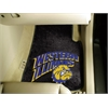 "FANMATS Western Illinois 2-piece Carpeted Car Mats 17""x27"""