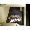 "FANMATS Western Michigan 2-piece Carpeted Car Mats 17""x27"""