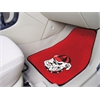 "FANMATS Georgia 2-piece Carpeted Car Mats 17""x27"""