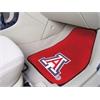 """FANMATS Arizona 2-piece Carpeted Car Mats 17""""x27"""""""