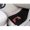 "FANMATS Cincinnati 2-piece Carpeted Car Mats 17""x27"""