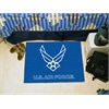 "FANMATS Air Force Starter Rug 19""x30"""