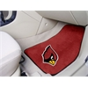 "FANMATS NFL - Arizona Cardinals 2-piece Carpeted Car Mats 17""x27"""