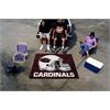 FANMATS NFL - Arizona Cardinals Tailgater Rug 5'x6'