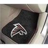 "FANMATS NFL - Atlanta Falcons 2-piece Carpeted Car Mats 17""x27"""