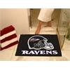 """FANMATS NFL - Baltimore Ravens All-Star Mat 33.75""""x42.5"""""""