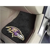 "FANMATS NFL - Baltimore Ravens 2-piece Carpeted Car Mats 17""x27"""