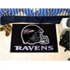 "FANMATS NFL - Baltimore Ravens Starter Rug 19""x30"""