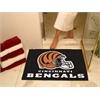 """FANMATS NFL - Cincinnati Bengals All-Star Mat 33.75""""x42.5"""""""
