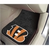 "FANMATS NFL - Cincinnati Bengals 2-piece Carpeted Car Mats 17""x27"""