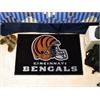 """FANMATS NFL - Cincinnati Bengals Starter Rug 19""""x30"""""""