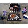 FANMATS NFL - Cincinnati Bengals Tailgater Rug 5'x6'