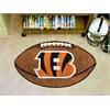 """FANMATS NFL - Cincinnati Bengals Football Rug 20.5""""x32.5"""""""