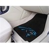 "FANMATS NFL - Carolina Panthers 2-piece Carpeted Car Mats 17""x27"""