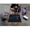 FANMATS NFL - Carolina Panthers Tailgater Rug 5'x6'