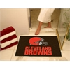 "FANMATS NFL - Cleveland Browns All-Star Mat 33.75""x42.5"""