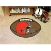 "FANMATS NFL - Cleveland Browns Football Rug 20.5""x32.5"""