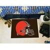 "FANMATS NFL - Cleveland Browns Starter Rug 19""x30"""