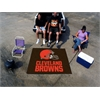 FANMATS NFL - Cleveland Browns Tailgater Rug 5'x6'