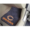 "FANMATS NFL - Chicago Bears 2-piece Carpeted Car Mats 17""x27"""