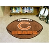 "FANMATS NFL - Chicago Bears Football Rug 20.5""x32.5"""