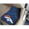 "FANMATS NFL - Denver Broncos 2-piece Carpeted Car Mats 17""x27"""
