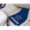 "FANMATS NFL - Dallas Cowboys 2-piece Carpeted Car Mats 17""x27"""