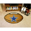 "FANMATS NFL - Dallas Cowboys Football Rug 20.5""x32.5"""