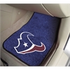 "FANMATS NFL - Houston Texans 2-piece Carpeted Car Mats 17""x27"""
