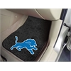 "FANMATS NFL - Detroit Lions 2-piece Carpeted Car Mats 17""x27"""