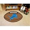 "FANMATS NFL - Detroit Lions Football Rug 20.5""x32.5"""