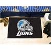 "FANMATS NFL - Detroit Lions Starter Rug 19""x30"""