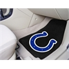"FANMATS NFL - Indianapolis Colts 2-piece Carpeted Car Mats 17""x27"""