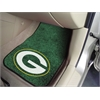 "FANMATS NFL - Green Bay Packers 2-piece Carpeted Car Mats 17""x27"""