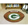 "FANMATS NFL - Green Bay Packers Football Rug 20.5""x32.5"""