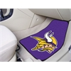 "FANMATS NFL - Minnesota Vikings 2-piece Carpeted Car Mats 17""x27"""