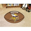 "FANMATS NFL - Minnesota Vikings Football Rug 20.5""x32.5"""