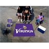 FANMATS NFL - Minnesota Vikings Tailgater Rug 5'x6'