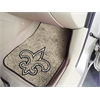 "FANMATS NFL - New Orleans Saints 2-piece Carpeted Car Mats 17""x27"""