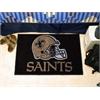 "FANMATS NFL - New Orleans Saints Starter Rug 19""x30"""