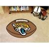 "FANMATS NFL - Jacksonville Jaguars Football Rug 20.5""x32.5"""
