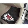 "FANMATS NFL - Kansas City Chiefs 2-piece Carpeted Car Mats 17""x27"""