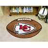 "FANMATS NFL - Kansas City Chiefs Football Rug 20.5""x32.5"""